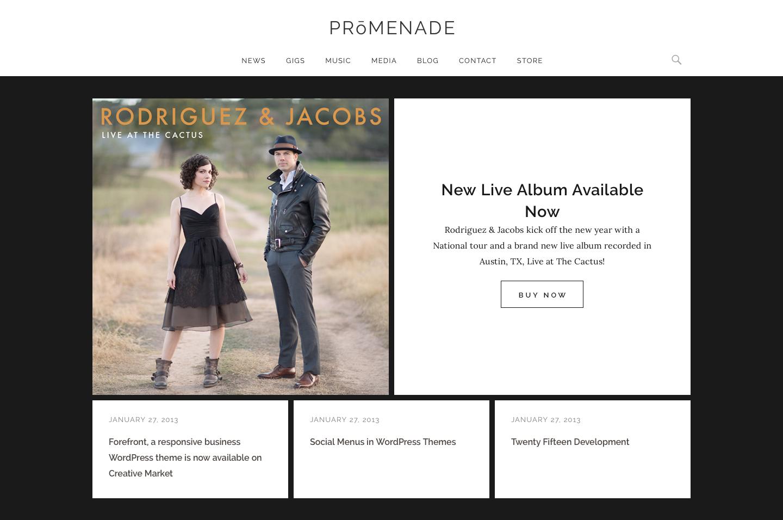 Promenade - Featured Content